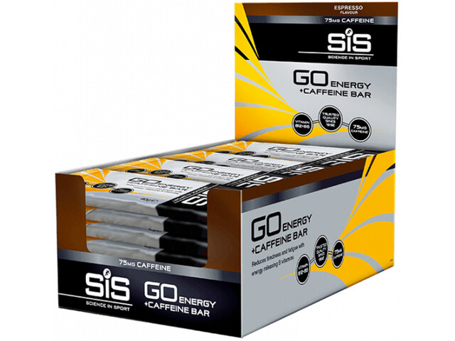 SiS GO Energy + Caffein Bar Box Espresso 30 x 40g